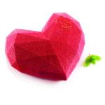 HEART ORIGAMI SILICON MOULD